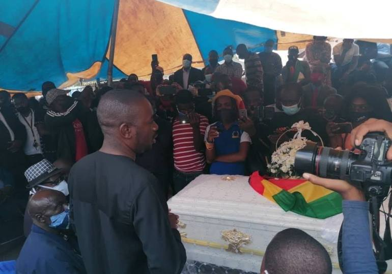 Chamisa Blames State for Dzamara's Death