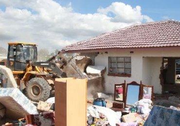 Masarira bemoans demolitions