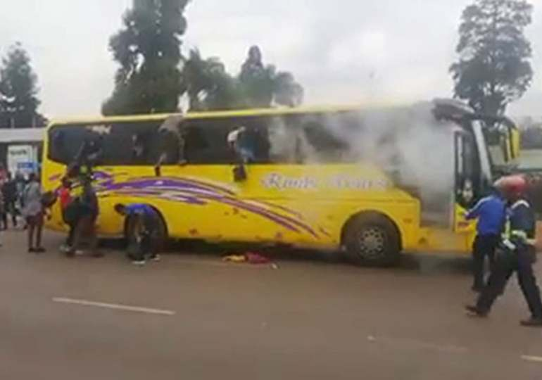 MDC Alliance fumes over teargassed bus