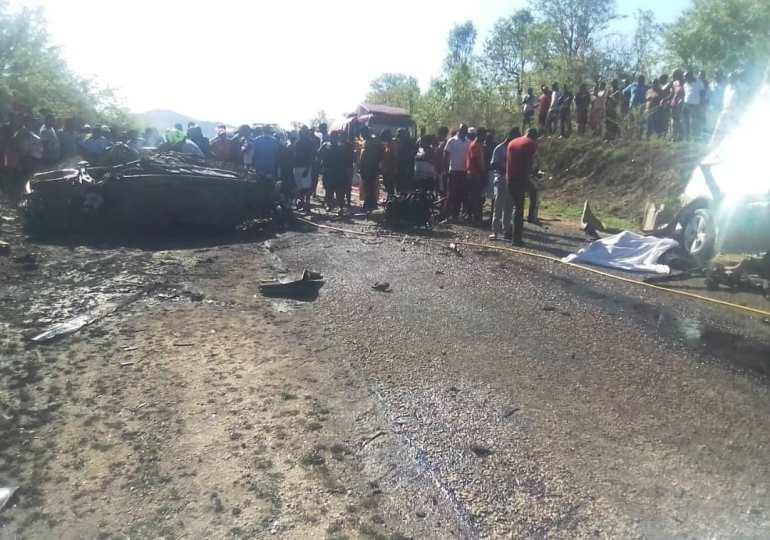 Four perish in Kariba head-on crash