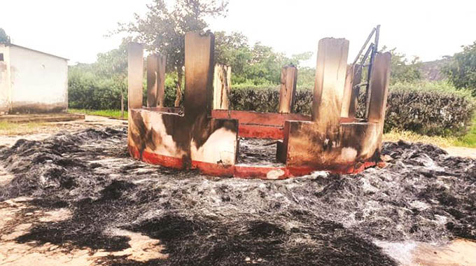 Murehwa murder: Another hut, gazebo up in smoke