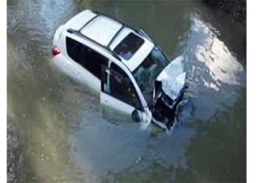 Three dead after car swept away