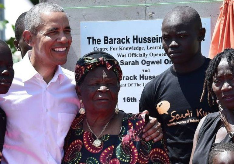 Barack Obama's Kenyan Grandmother Dies, Aged 99