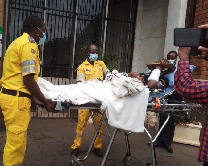 Chiwenga's estranged wife hospitalised