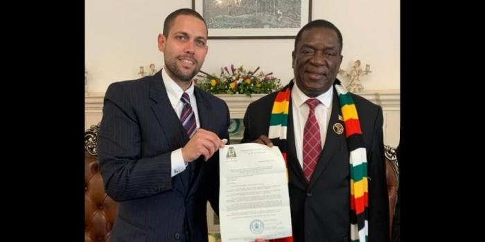 Zimbabwe terminates appointment of Moshe Yitzhak Osdoicher as its Honorary Consul in Northern Israel
