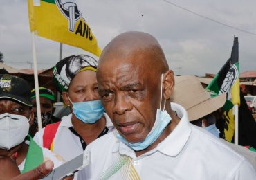 South Africa's ruling ANC suspends secretary-general Ace Magashule