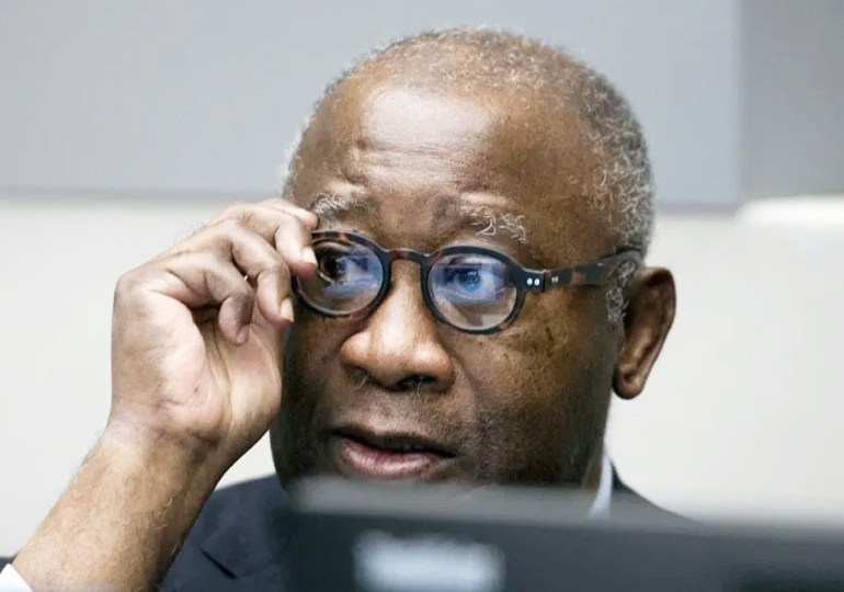 Ivory Coast's former president Gbagbo flies home after decade in exile