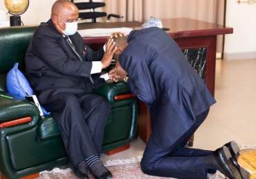 Prophet Uebert Angel Meets ZCC leader Mutendi