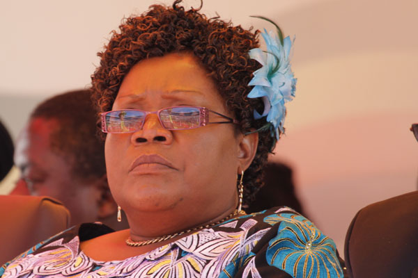 YOUTHS DUMP MUJURU'S PARTY
