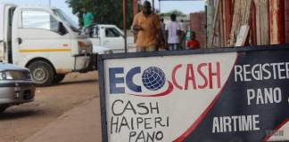 """""""OUR SHOPS USUALLY HAVE CASH, FOR CASHOUTS"""" SAYS ECOCASH"""