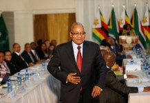 ZUMA SENDING MINISTER OF DEFENCE TO ZIMBABWE