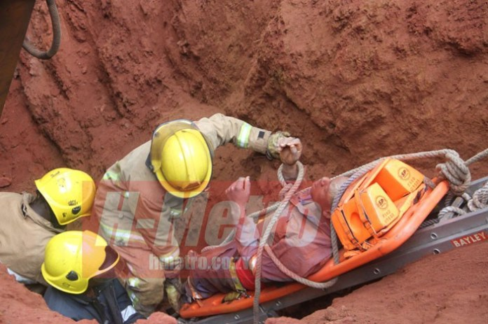 TRENCH WORKER'S GIG ENDS IN TRAGEDY AS EARTH COLLAPSES