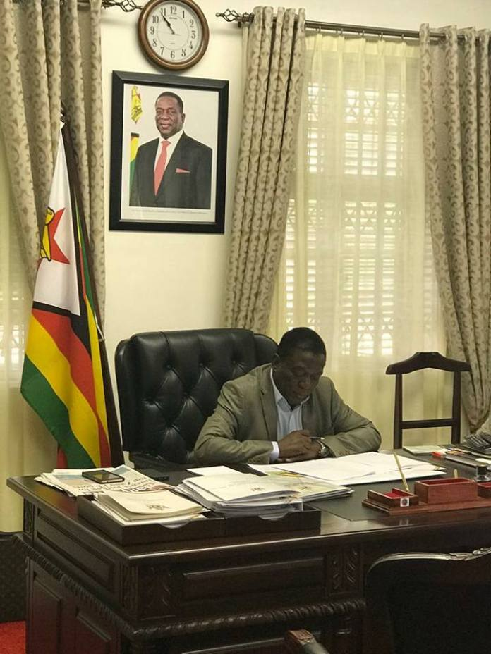 PRESIDENT MEETS PROVINCIAL CHAIRPERSON
