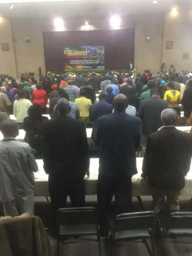 ZANU PF OFFICIALS IN RAT RACE FOR TOP POSTS