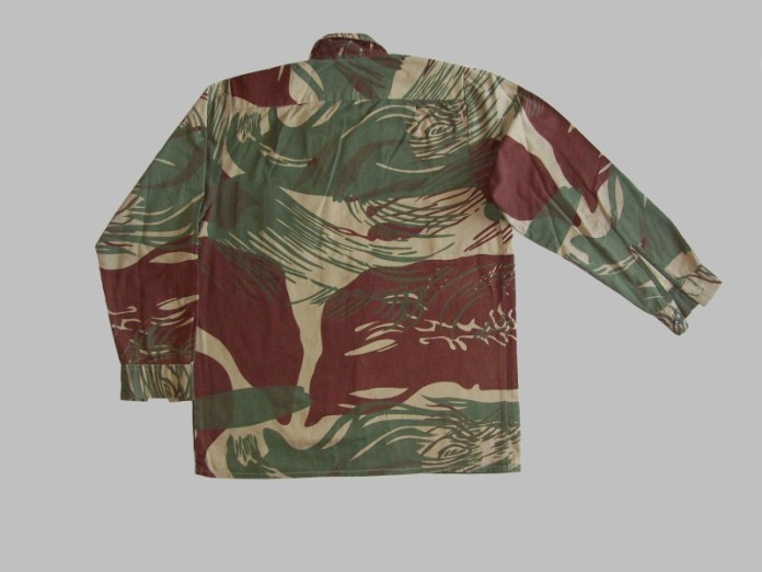 MAN DRAGGED TO COURT FOR WEARING ARMY CAMOUFLAGE