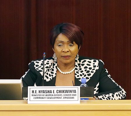 FORMER MINISTER FACES EVICTION