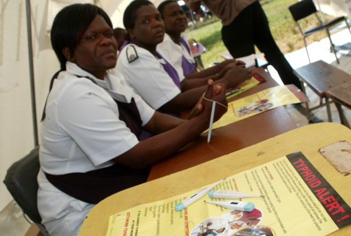 Typhoid resurfaces in Harare