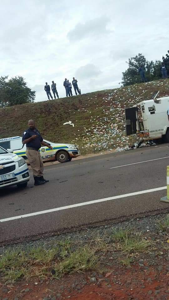ANOTHER CASH IN TRANSIT VAN AMBUSHED