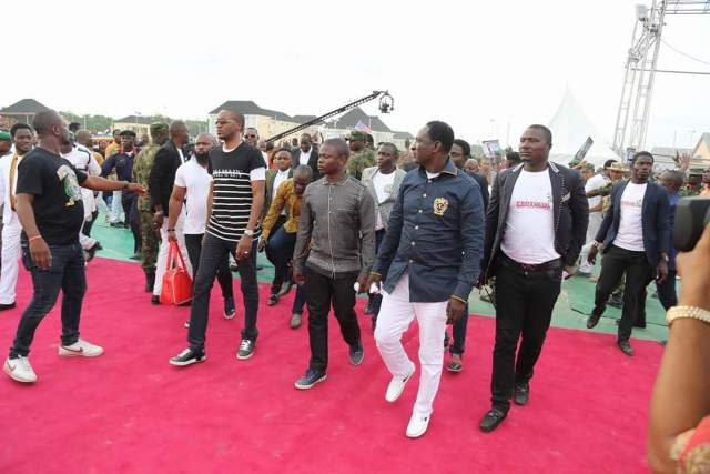 PICTURES : PROPHET ANGEL, BUSHIRI IN NIGERIA