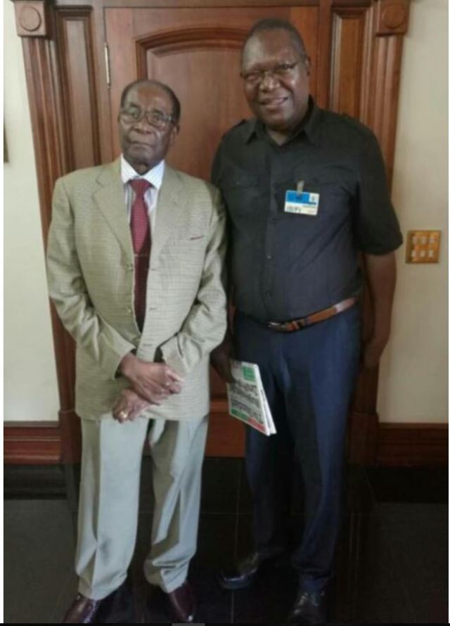 MUGABE IS BACK !! CONGRATULATES MUTINHIRI ON DUMPING ZANU PF