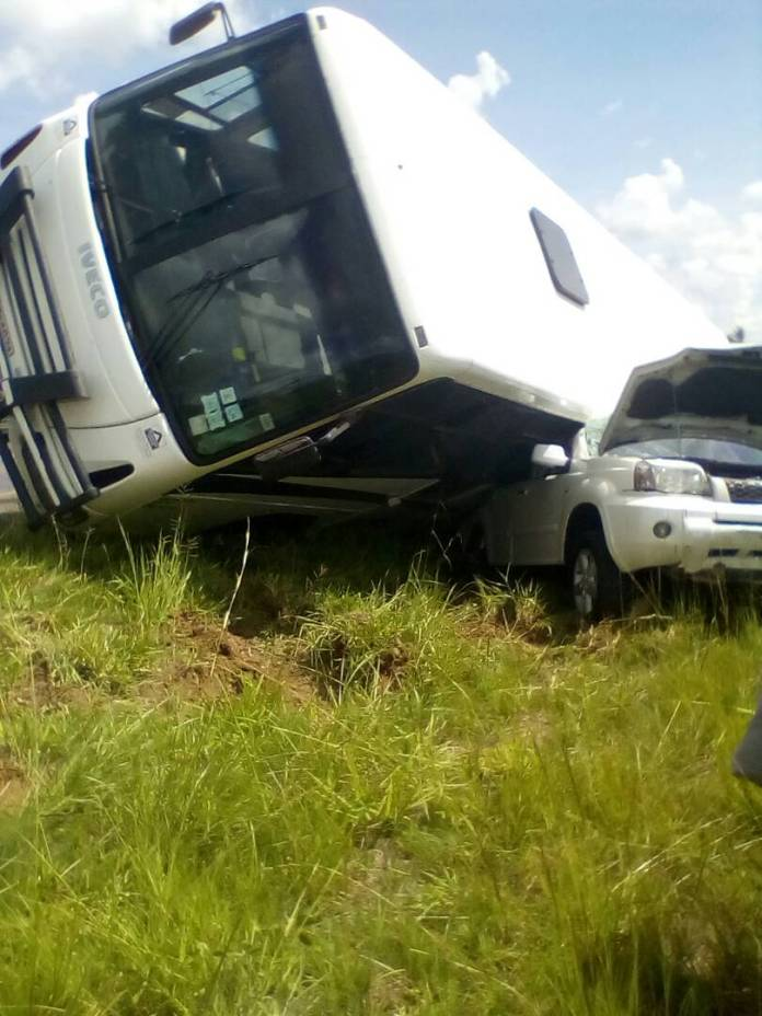NYARADZO BUS INVOLVED IN ACCIDENT