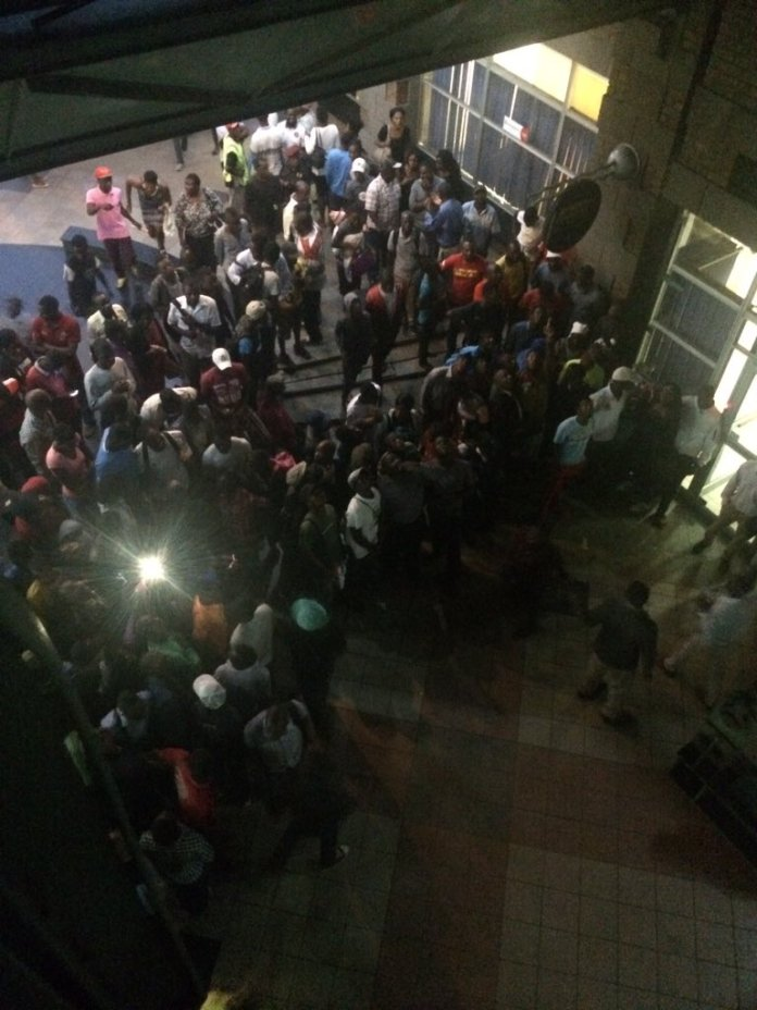 MAN ATTEMPTS SUICIDE AT EASTGATE MALL