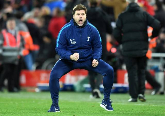 BATTLE FOR TOP FOUR SPOT WILL GO TO THE WIRE, SAYS POCHETTINO