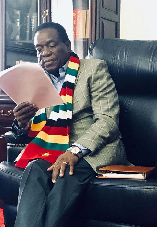 Zimbabwe has moved on: ED tells Mugabe