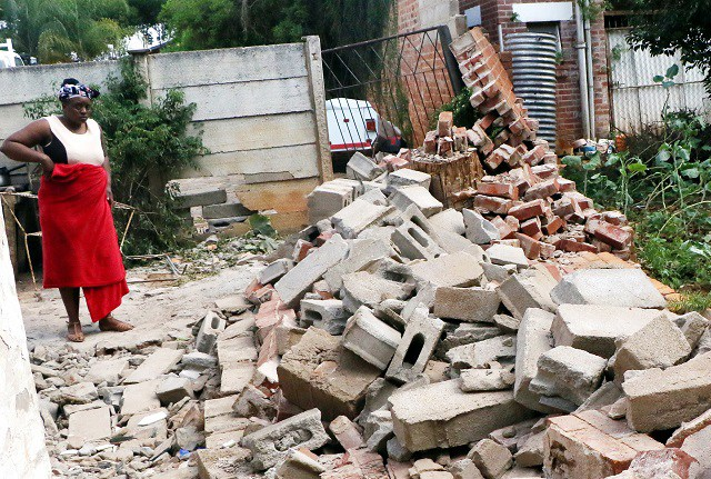 BOY (8) KILLED IN A FREAK ACCIDENT AS WALL COLLAPSES ON HIM
