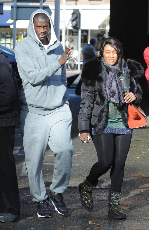 MARRIED MANCHESTER CITY STAR, YAYA TOURÉ CAUGHT OFFSIDE, PICTURE LEAKED