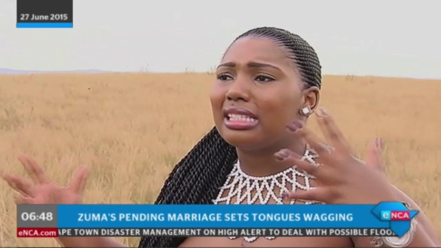 Up Close And Personal With Zuma's New Wife