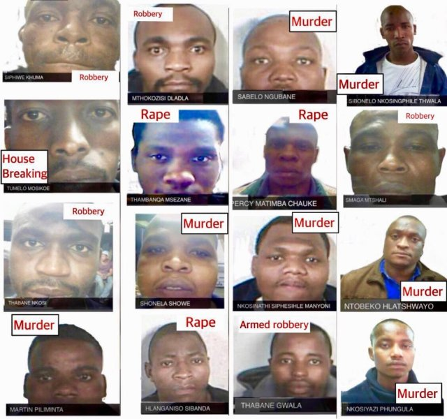AFRICA'S OWN 'Scofield team' BREAKOUT FROM MAXIMUM PRISON IN MOVIE STYLE ESCAPE