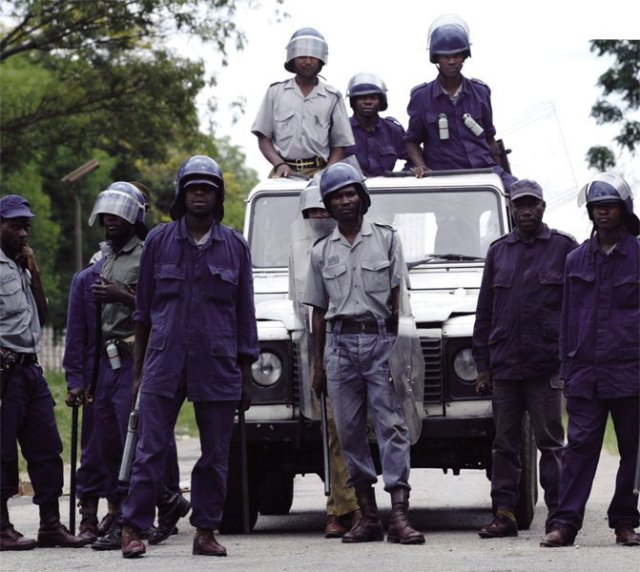 POLICE VOW TO BLOCK ZANU-PF BULLYING