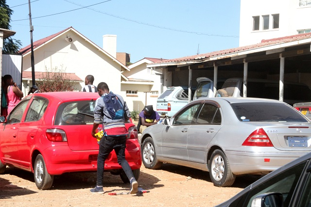 150 UNREGISTERED CARS IMPOUNDED