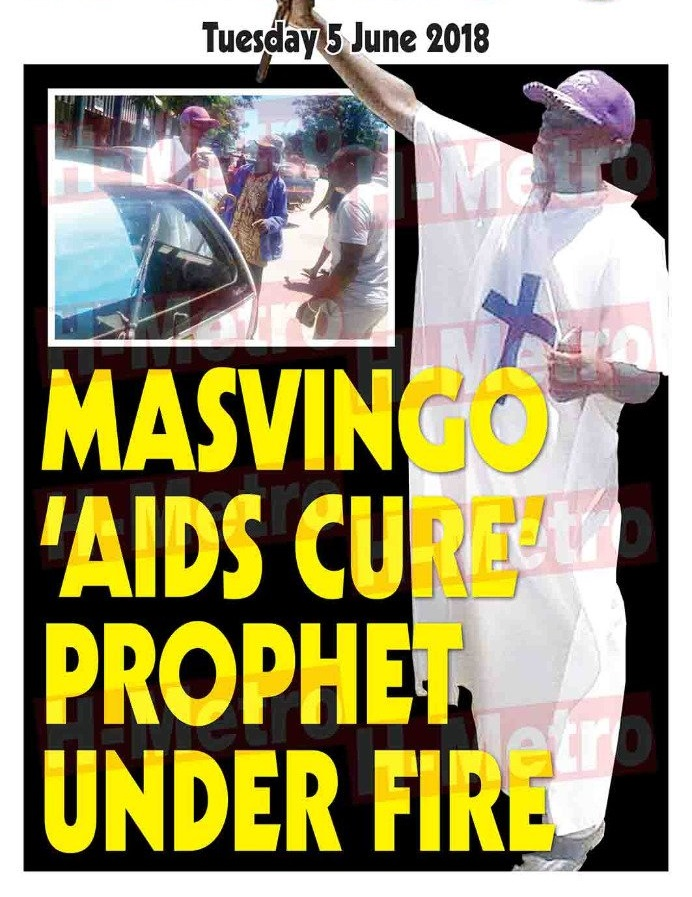 MASVINGO MAN CLAIMS AIDS CURE