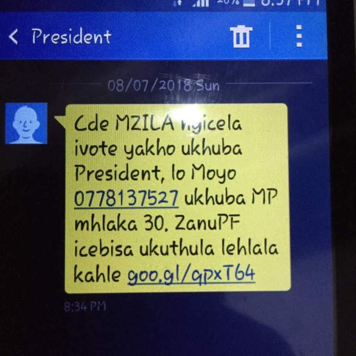 Mnangagwa Broken Ndebele Messages Sell Him Off
