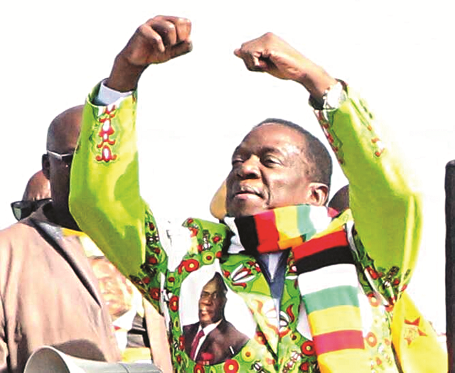 Mnangagwa Swears Chamisa Can't Stop This Election
