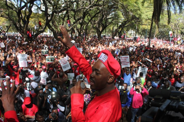 I WILL ANNOUNCE POLL RESULTS : CHAMISA