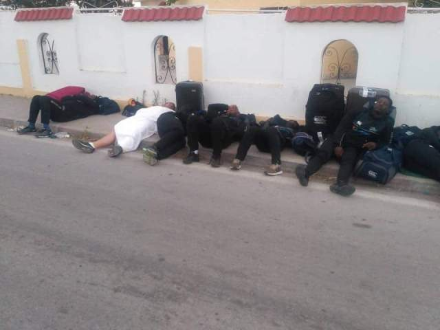 Zim Rugby Team Sleeps In The Streets In Tunisia
