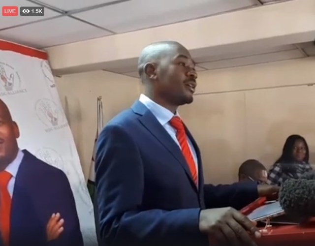 FULL TEXT: Chamisa's Press Statement On Monday