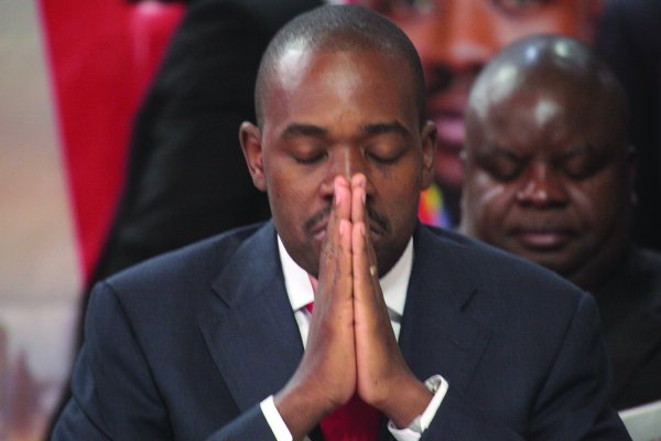Pastors Launch 'Pray For Chamisa' Programme