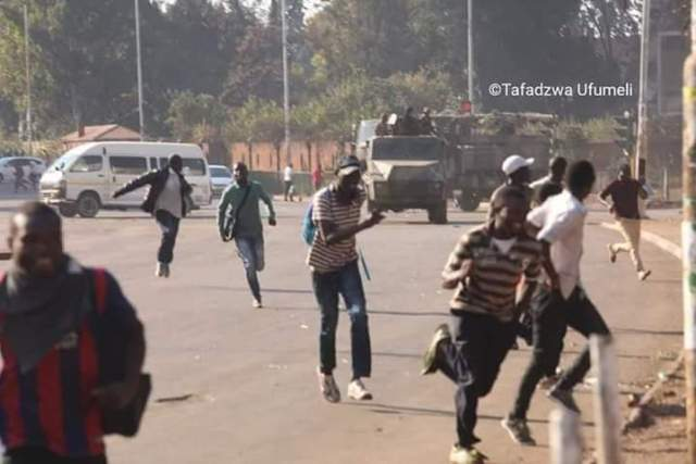 Violence Erupts In Harare, One Person Shot Dead