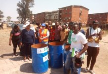 Starman Chamisa In Mbare Clean Up Exercise