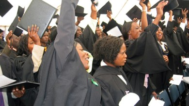 Photo of 526 graduate at Africa University