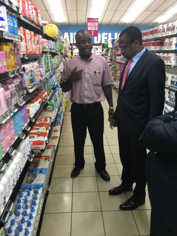 RIDICULOUS : MINISTER AT SOARING PRICES