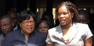 Man Who Kidnapped Mujuru's Daughter Arrested