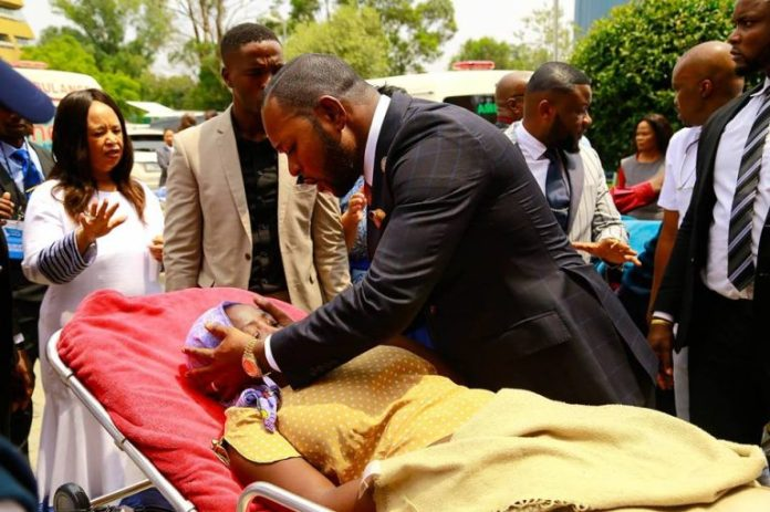 Lukau Revives Critically Ill Patients From Ambulances
