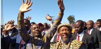 Chamisa and Chief Ndiweni