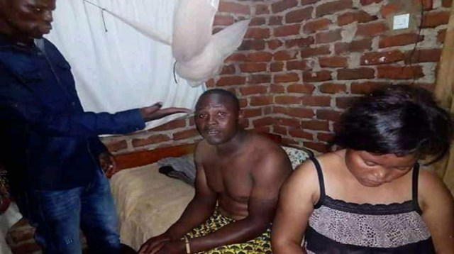 Couple Caught Redhanded
