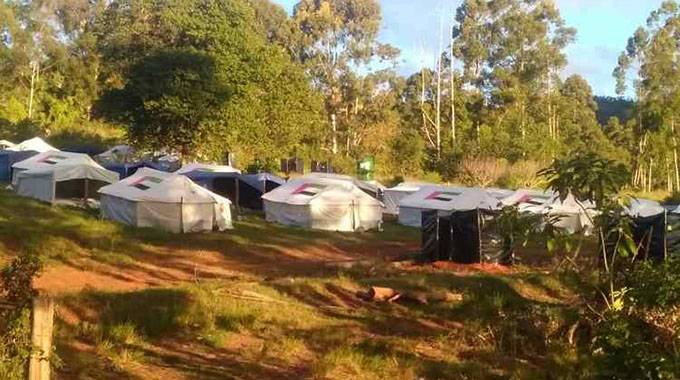 CYCLONE VICTIMS REJECT TENTS